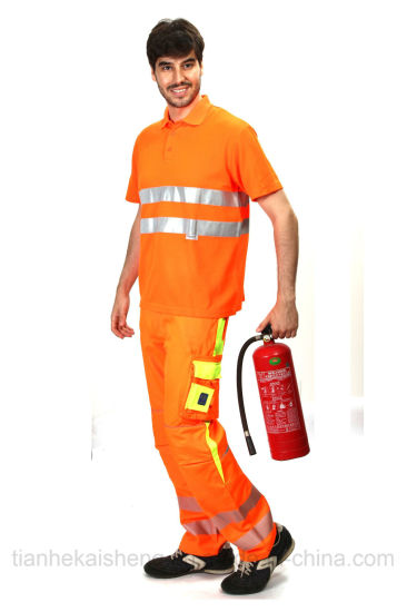 Safety Workwear Men's High Visibility Trousers