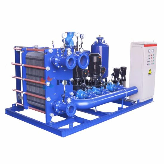 Intelligent Plate Heat Exchanger Unit for Waste Heat Recovery pictures & photos