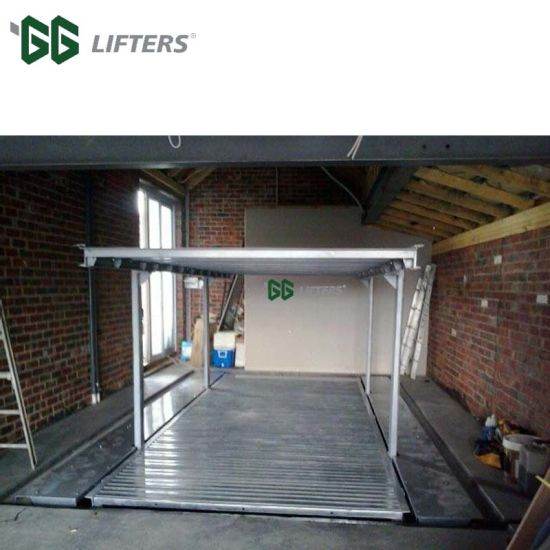 residential pit garage car parking lift pictures & photos