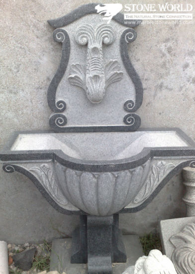Gardening Products, Water Sink, Stone Basin, Garden Water Carving (LA059)