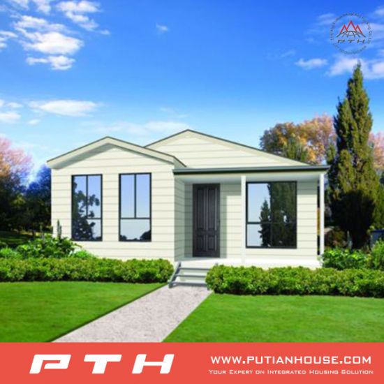 China Prefabricated Luxury Villa House for Living with Bedroom/Balcony/Garage pictures & photos