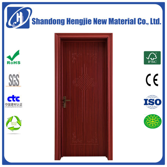 China Factory Direct Antiseptic Soundproof Wpc Interior Door For