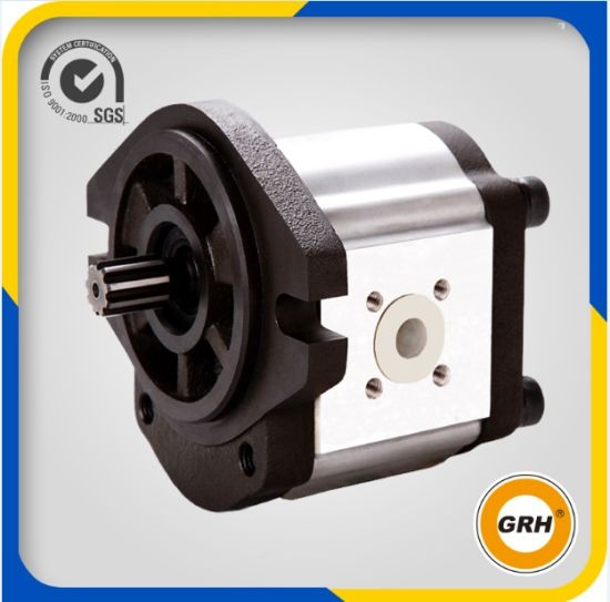 Group 2 Aluminum Hydraulic Oil Gear Motor