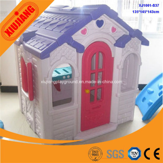 China Cheap Kids Toy Plastic Small Doll House For Kindergarten