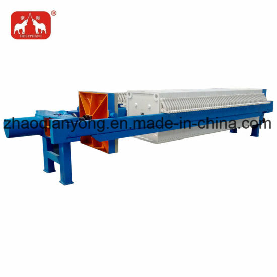 Hydraulic Automatic Chamber Filter Press for Chemicals pictures & photos