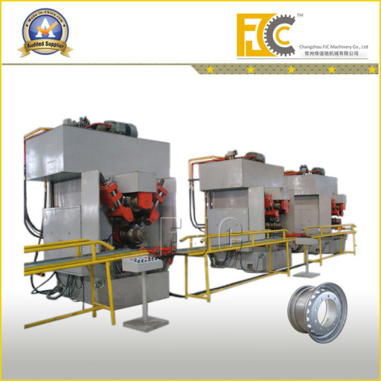 Tubeless Wheel Rim Machine (Prduction Line) for Bus or Truck pictures & photos