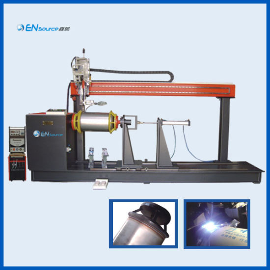 Automatic TIG Circular Welding Machine for Solar Water Heater Tank Production Line
