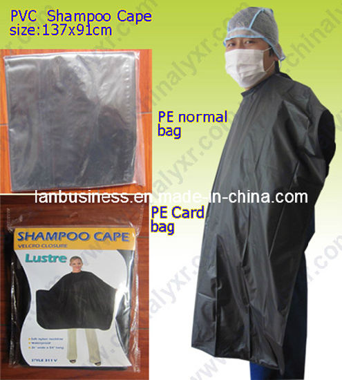 Newly Designed Hair Dressing Capes, Hair Cutting Cape with White