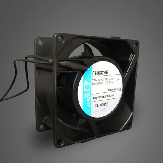 China Axial Fan 80mm, AC Cooling Fan, 80X80X38 mm Fan