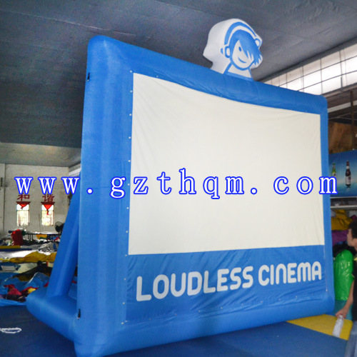 Oxford Cloth Mobile Movie Screen pictures & photos