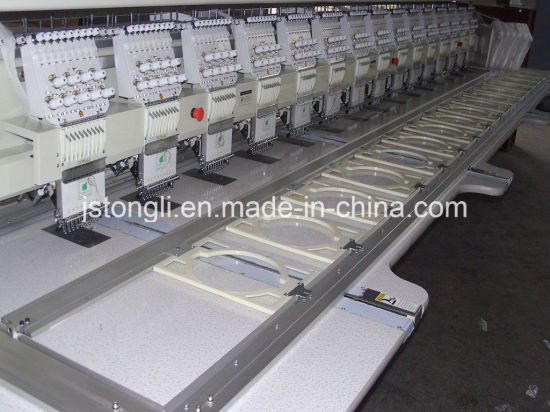 High Efficiency Multi-Head Plain Embroidery Machine (TL915) pictures & photos