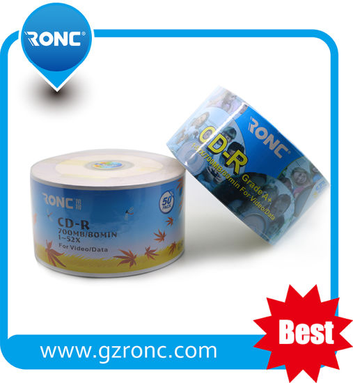 High Quality Factory Sale Blank CD-R 52X 700MB