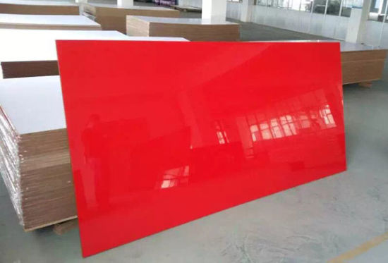 UV Board/Melamine MDF/High Gloosy UV Coated MDF pictures & photos