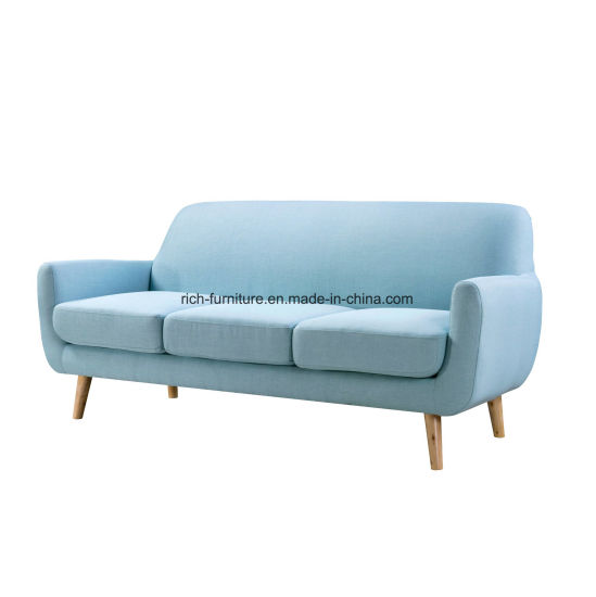 High Quality Simple Modern Fabric Hotel Sofas pictures & photos