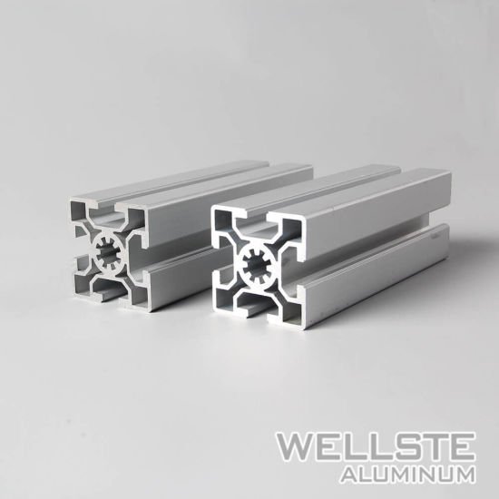 China 6063 Extruded Aluminum Framing 4040 T Slot for Workstations ...