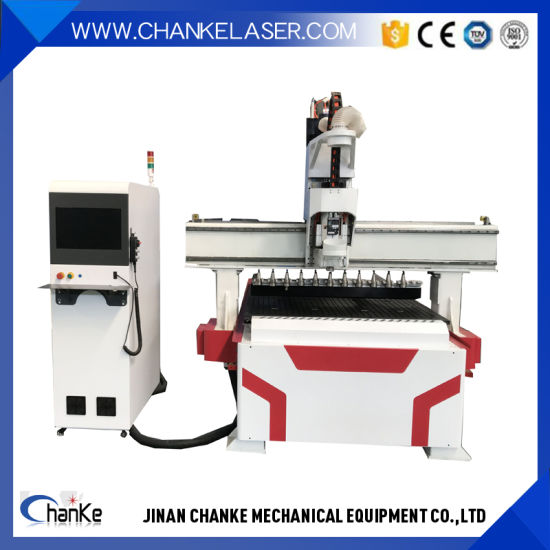 2000X3000mm Atc Liner 6 Bits Wood Cutting Milling CNC Router for Advertising Signs