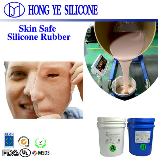 Body Safe Food Grade High Quality RTV2 Silicone Rubber to Make Movie and TV Special Effects with Liquid Silicone Rubber