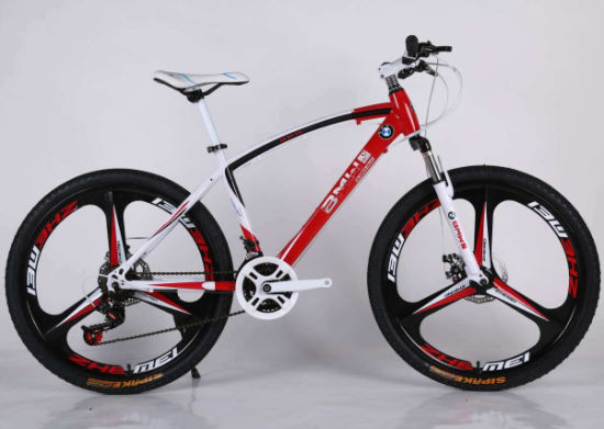 26 Inch Steel Frame Mountain Bicycle with Gear