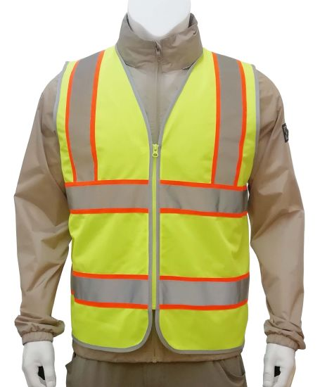 High Visbility Safety Vest with High Quality pictures & photos