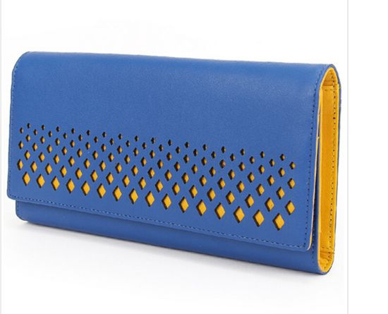 Special Laser Holes PU Women Wallet From China Factroy