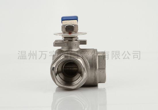 China Wholesales Factory Three Way Ball Valve