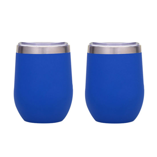 Wevi Fashion Stainless Steel Wine Tumbler Cup with Lid