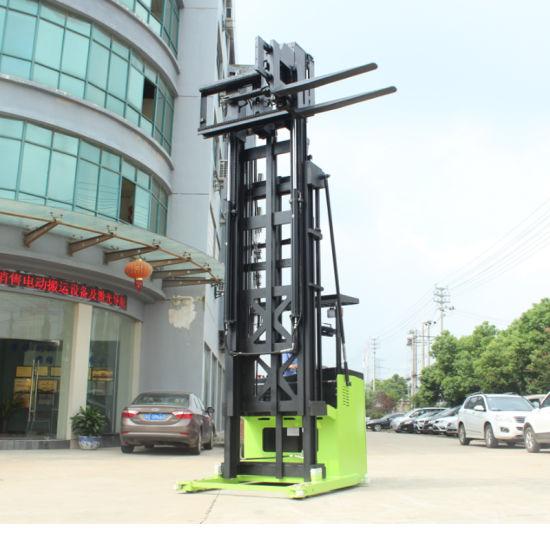 Electric Stacker Duplex Mast Triplex Mast Lifter Lifting 2500mm 5500mm 6000mm