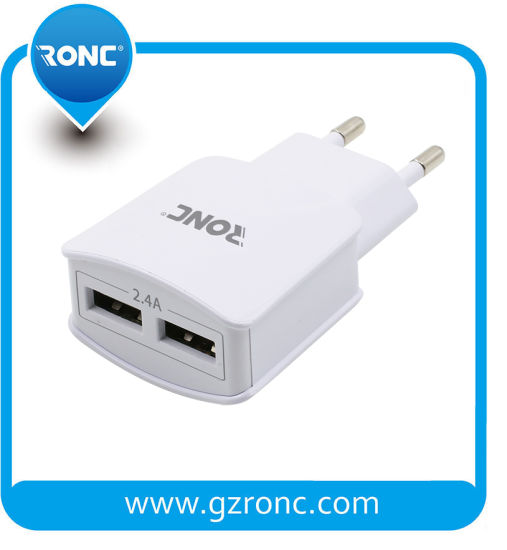 Wholesale Cheap EU/USA/UK Travel USB Charger pictures & photos