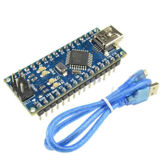 Arduino Nano V3.0 Atmega328p CH340g 5V 16m Micro-Controller Board for Arduino Nano 328p Nano 3.0 with USB