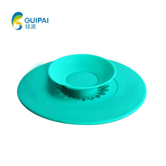 Shower Drain Covers Hair Catcher Silicone Hair Stopper Sink Strainer Universal Drain Cover Silicone Filter Sink Strainer