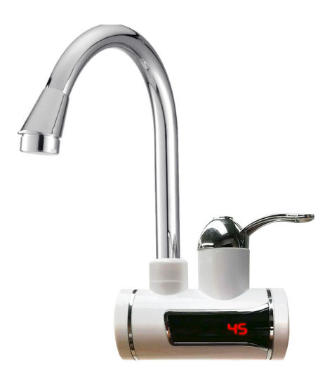 China Instant Water Heater / Electric Heating Faucet - China Heating Tap, Electric Faucet