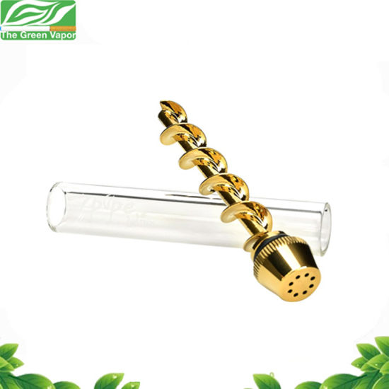 Hot Sale Dry Herb Glass Blunt, Glass Smoking Pipe
