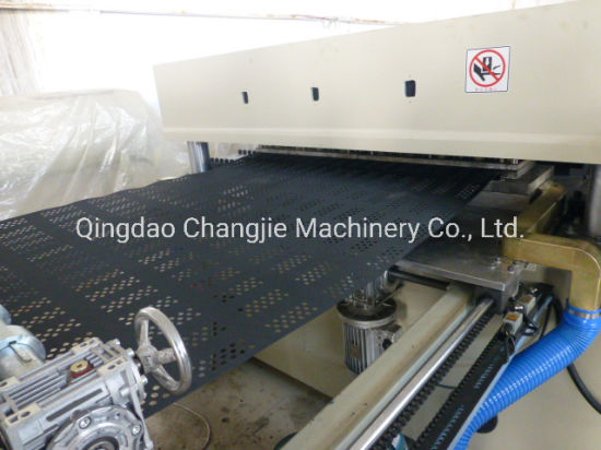 PE Geocell Sheet Production Line/The Machine of Plastic Geocell with Ce Certification