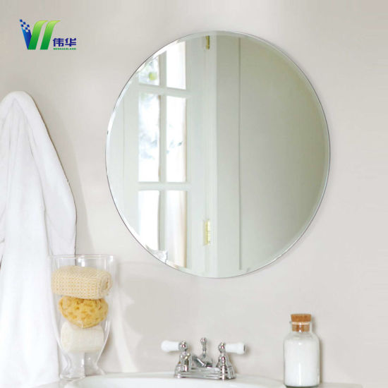 China Home Decor Large Glass Decorative Bathroom Wall Mirror with ...