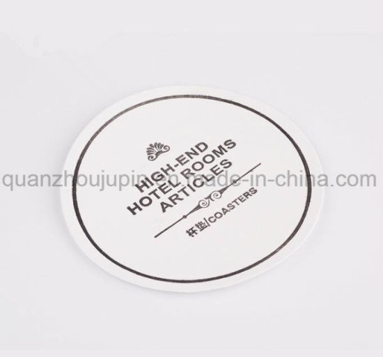 OEM Logo Disposable Bibulous Paper Coaster Cup Mat pictures & photos