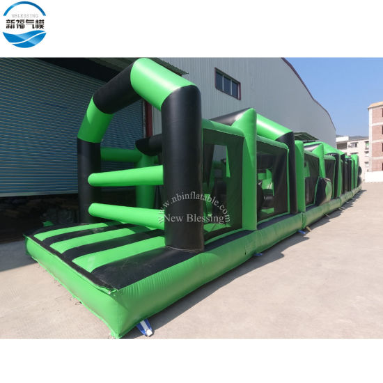 Wholesale 30X3.6m Commercial Inflatable Obstacle Course Races Game pictures & photos