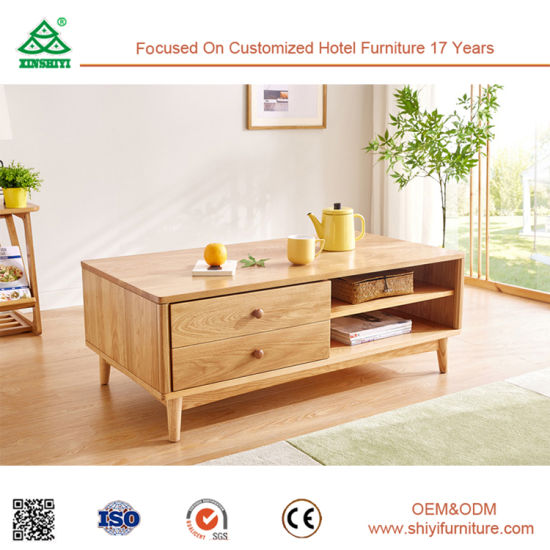 China Home Furniture Office Furniture Wooden Tea Table Design