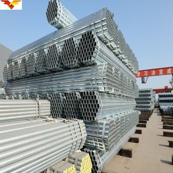 Round Galvanized Steel Pipe for Greenhouse pictures & photos
