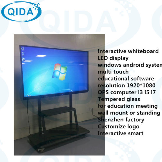 High Definition Digital Signage Indoor Display Board Classroom Equipment  Interactive Smart Board