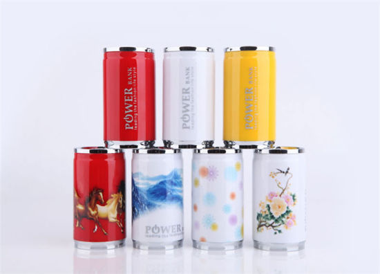 Wholesale Market Colar Can Mobile USB Power Bank pictures & photos