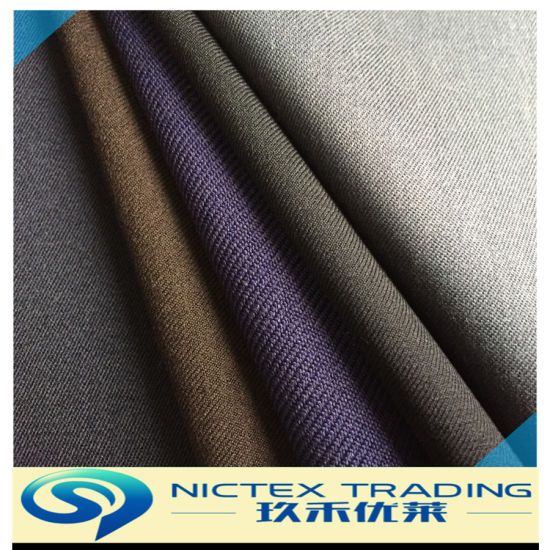 Official Wool Suit Fabric, Wool Men Suiting Fabric, Wool Polyester Fabric