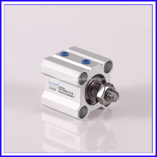 Standard Stainless Steel Compact Thin Pneumatic Air Cylinder
