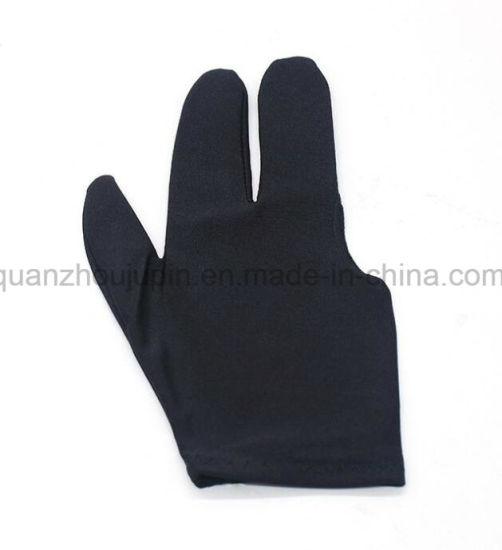 OEM High Quality Polyester Billiard Gloves