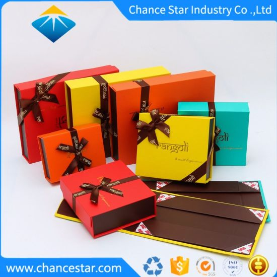 Custom Printed Gifts Packaging Paper Cardboard Magnetic Boxes