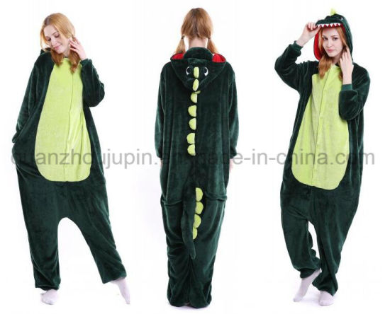 OEM Coral Fleece Various Cute Animal Nightgown Sleepwear Pajamas pictures & photos