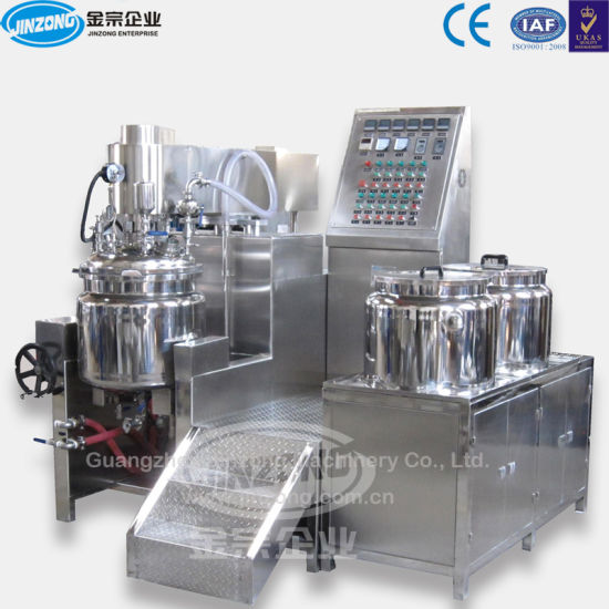 Jrka Series Hydraulic Lift Vacuum Emulsifying Mixer pictures & photos