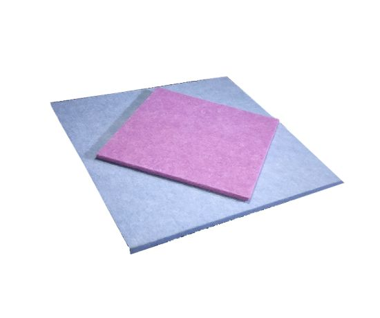 Pet Acoustic Panel Soundproofing Polyester Fiber Acoustic Panel Board