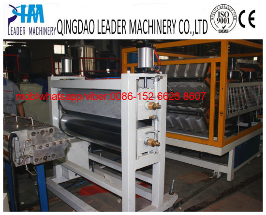 PVC Plastic Bamboo Roofing Sheet Manufacturing Machinery pictures & photos