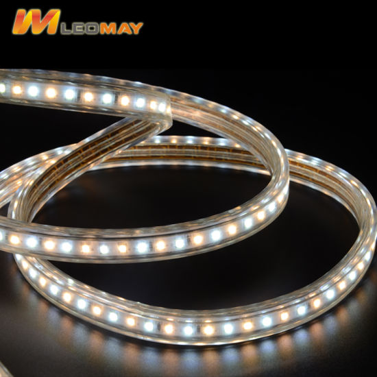 Direct 220V using Waterproof High Volatge LED strips SMD2835 with High Brightness pictures & photos
