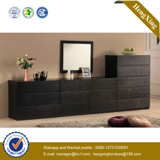 Cheap Furniture Knock Down Used High Gloss Living Room Cabinet (UL MFC053)